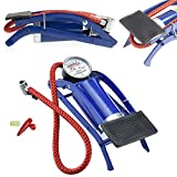 #7: Zeebly New Multi Purpose Foot air Pump tire Bicycle Ball Pump