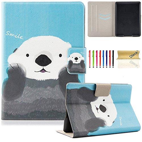 Dteck Hülle für Kindle Paperwhite, Ultra Schlanke Ständer Schutzhülle mit Auto Schlaf/Wach Funktion für Amazon Kindle Paperwhite Ereader(Passend für alle 2012 2013 2014 2015 und 2016), Netter Panda (6 Zoll Können Leichte Gehäuse)