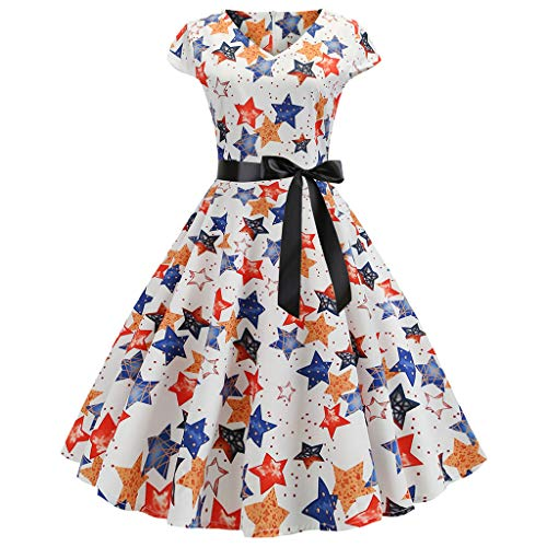 Boatneck Pullover Kleid (Komise Sommer Boatneck ärmelloses Vintage Tee-Kleid für Damen)