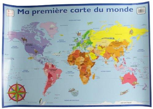 Ma premire carte du monde