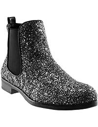 huge selection of 42d7a 4c1f7 Suchergebnis auf Amazon.de für: Schuhe silber glänzend ...