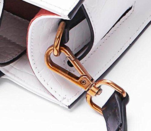 FZHLY High Quality Primo Strato Di Pelle Borse Girasole Modeling Borsa,IvoryWhite IvoryWhite