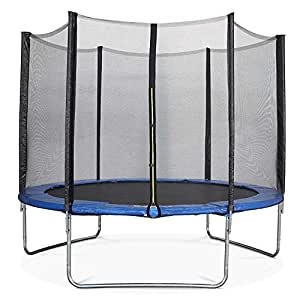 c05ad1608065c Buy Toy Park Fitness TUV Approved Trampoline with Enclosure Net Poles Safety  Pad and Ladder for Kids and Adults