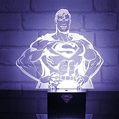 DC Comics Lampe Superman hero light USB