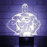 DC Comics Pp2997dc Superman Hero lumière, plastique, Transparent