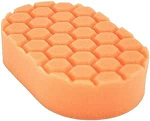Chemical Guys Hex Logic Hand Pad Orange Hart Applikator Schwamm Auto