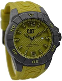 CAT Karbon Men's Watch Military Green Dial 45.5 MM Military Green Silicone K1.121.23.331