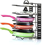 Best Pots  Pans - EverEx™ Adjustable pan and Pot Rack Holder Dish Review