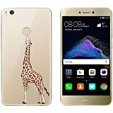"""Huawei P8 Lite 2017 Funda , TUTUWEN Transparente Silicona TPU de Flexibilidad Carcasa Case Bumper Ultra Delgado Espalda Case Cover para Huawei P8 Lite 2017 5.2"""""""