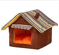 GZDXHN Dog House Pet Nest Litière pour Chats Tapis en Forme de yourte Four Seasons Universal