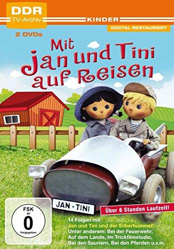 Preisvergleich Produktbild Mit Jan und Tini auf Reisen (DDR TV-Archiv) [2 DVDs]