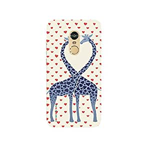iSweven Two Zeraf design printed matte finish back case cover for Xiaomi Redmi Note 4