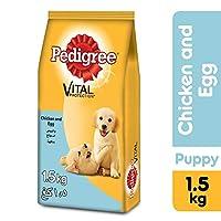 Pedigree Chicken & Eggs, Dry Dog Food (Puppy), 1.5kg