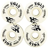 UGIN The Wolf HR-100A Ruedas de Monopatin Profesional de Alta Calidad Skateboard Tabla Rueda Patines Patineta 52mm×30mm