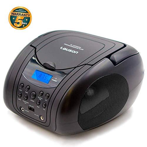 Lauson Lettore CD Radio FM/ MP3 / Radio CD Portatile/PLL Stereo Portatile,...