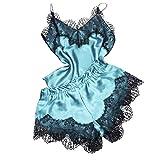 Honestyi Conjuntos de Lencería Sexy Camisolas Culottes Shorts para Mujeres de Dormir...