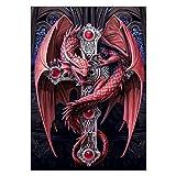 Broadroot Dragon 5D Diamant Malerei Stickerei DIY Kreuzstich Handwerk Hand Home Decor Geschenke
