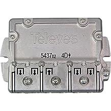 Televes 543702 - Repartidor 4 direcciónes ict-cc