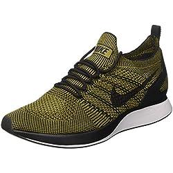 Nike Air Zoom Mariah Flyknit Racer, Zapatillas de Gimnasia para Hombre, Marrón Desert Moss Black, 41 EU