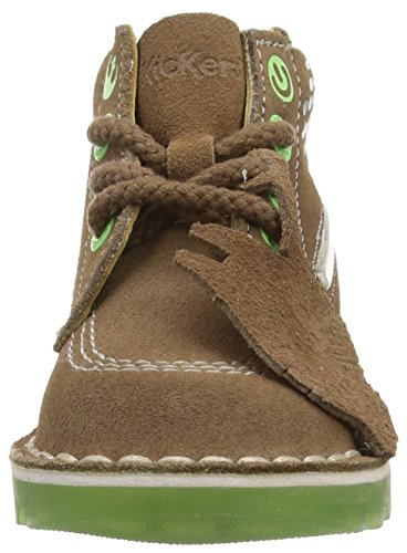 Kickers Yoda Lightsaber Sued im Jungen Kurzschaft Stiefel Brown (Light Brown)