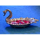 DreamKraft Duck White Metal Tray for Dryfruit/Decoration/Table Decor Home Decor