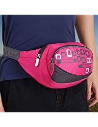 HAOFY 3 Colors Waterproof Running Waist Belt Bag Pack Pouch For Outdoor Sports Climbing Cycling, Running Bag,...