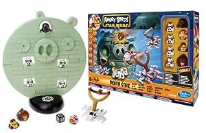 Hasbro A2845E24 - Angry Birds Star Wars Jenga Death Star Spiel