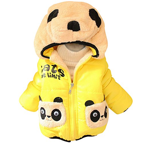 Little Hand® Baby Mädchen Jacken für Kinder 0-2 Jahre, Wärme Winter Felpa Mäntel 80 86 92
