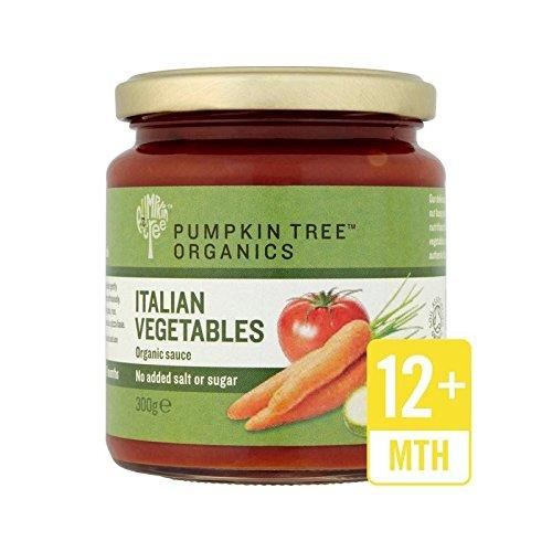 Organiche Albero Vegetali Zucca Italiana Salsa 300G - Confezione da 2