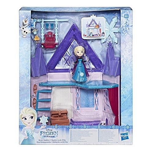 Hasbro Disney Die Eiskönigin E0094EU4 Little Kingdom Elsas Königsgemächer, Spielset (Disney Verbundenen Kostüme)