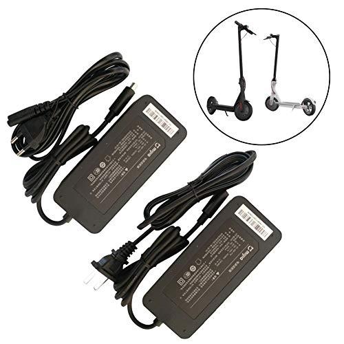 YGQersh Adaptateur de Chargeur de Batterie pour Scooter électrique Ninebot ES1 ES2 Xiaomi Mijia m365 - EU Plug