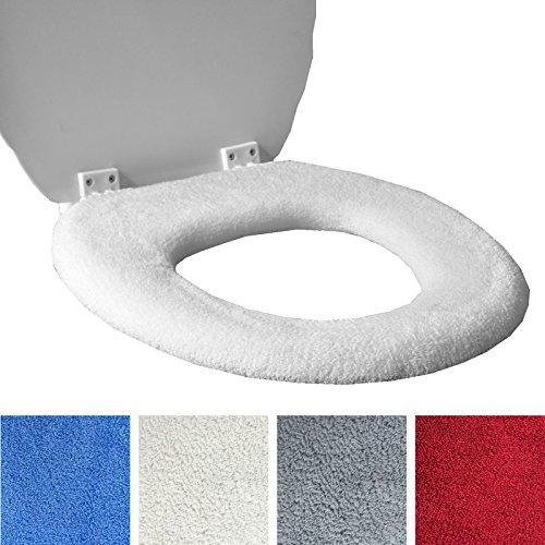 toilet-seat-cover-fleece-super-caldo-per-anello-di-metallo-scegli-cream-o-red-universal-fit-lavabile