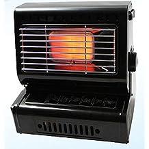 Calefactor a gas 1, 3KW Gasstrahler calefactor de calefacción de cerámica + ...