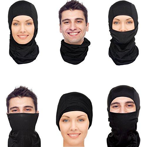 BOBOJW Windproof Ski Taktische Maske, Ultimative thermische Retention Winddicht Ski Taktische Maske kaltes Wetter Gesichtsmaske Nackenwärmer -