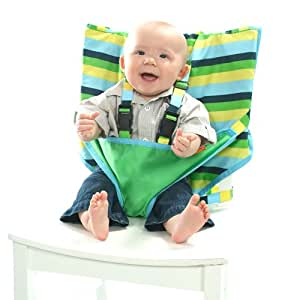 My Little Seat The Travel High Chair (Seaside Stripe, 6-36 Months)
