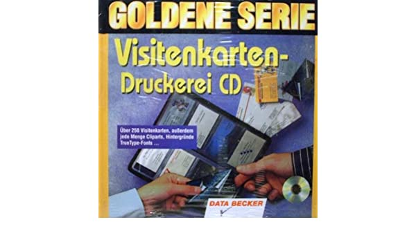 Visitenkarten Druckerei Cd Amazon De Software