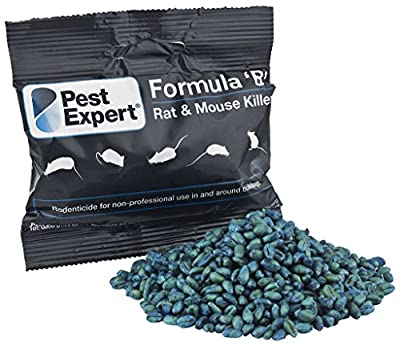 Rat & Mouse Killer Poison 1kg - Formula 'B' from Pest Expert