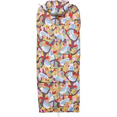 POLER Unisex Schlafsack Sleeping Bag The Reversible Napsack birdy print