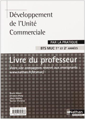 Develop Unité Com Bts Muc Prof par  Marais Bruno