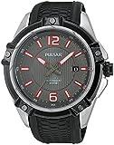 Pulsar Herren-Armbanduhr XL Sport Analog Automatik Kautschuk PU4039X1