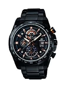 Casio Herren-Armbanduhr XL Edifice Analog Quarz Edelstahl EFR-523BK-1AVEF