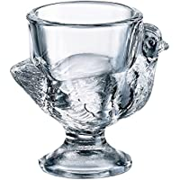 Thermos/BHL BHL Glass Hen Egg Cup Clear, Set of 3