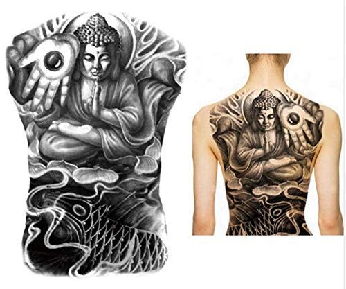 EROSPA® Tattoo-Bogen temporär - Schulter Rücken - Frauen Männer - Wasserfest