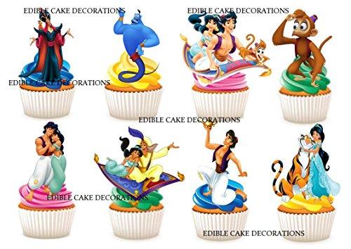 Stand up Essbare Papier Cupcake Topper Kuchen Dekorationen ()