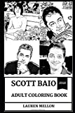 Scott Baio Adult Coloring Book: Chachi from Happy Days and See Dad Run Star, Famous Republican and Nostalgia Sex Symbol Inspired Adult Coloring Book (Scott Baio Books, Band 0)
