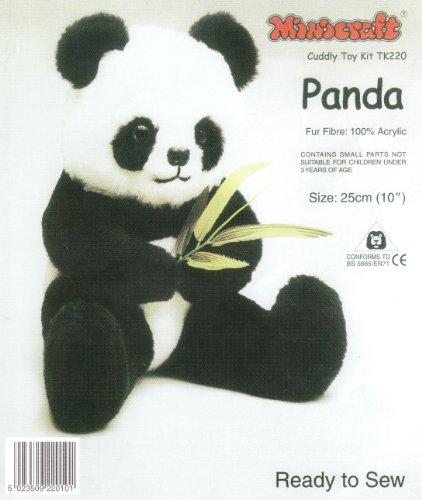 Dempsey Designs Minicraft 25cm Panda Kit Höhe (Panda Kit)