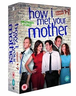 How I Met Your Mother - Season 1-7 [DVD] (B005ZCASKU) | Amazon price tracker / tracking, Amazon price history charts, Amazon price watches, Amazon price drop alerts