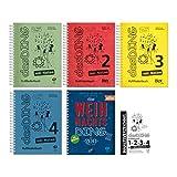 Dux Verlag Das Ding Band 1-4 mit Noten + Weihnachts-Ding + Inhaltsverzeichnis