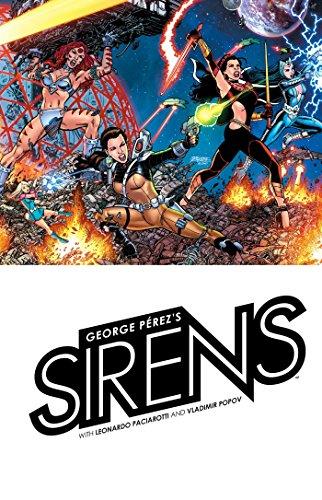 George Perez's Sirens por George Perez