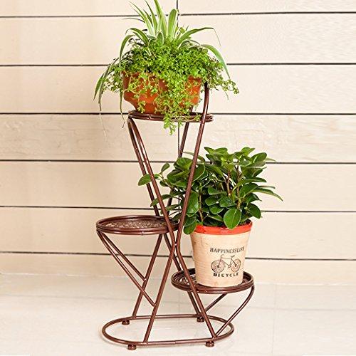 Fioriere da esterno scaffale per piante 3 strati fiore - Porta piante fai da te ...